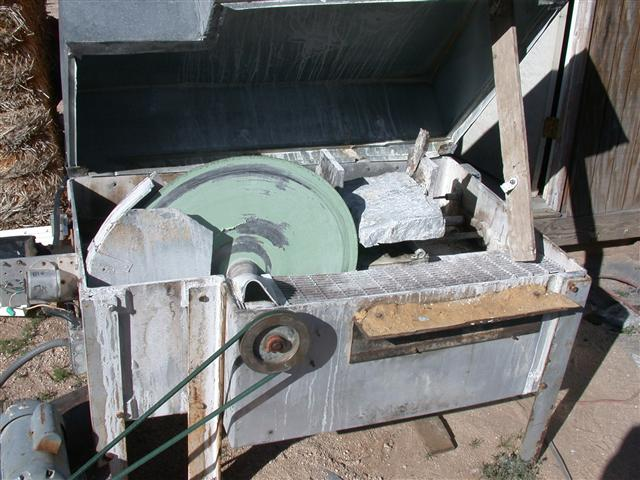 24 inch lapidary wet saw