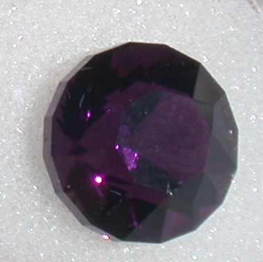 Faceted Gemstone amethyst