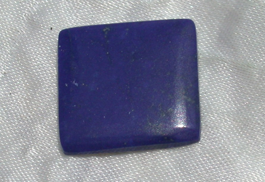 Cabochon cut Lapis gems Gemstone  cItem: lapcaballsiz Material:lapis Color: blue  Type: Cabochon Locality: Pakistani Hardness: 7.0 good for almost any jewelry application Design: by Chris Byron  Cut By: Chris Byron Dimensions: multi Clarity: IF Weight: carats Price: ($10.00 per ct) Treatments: Unknown