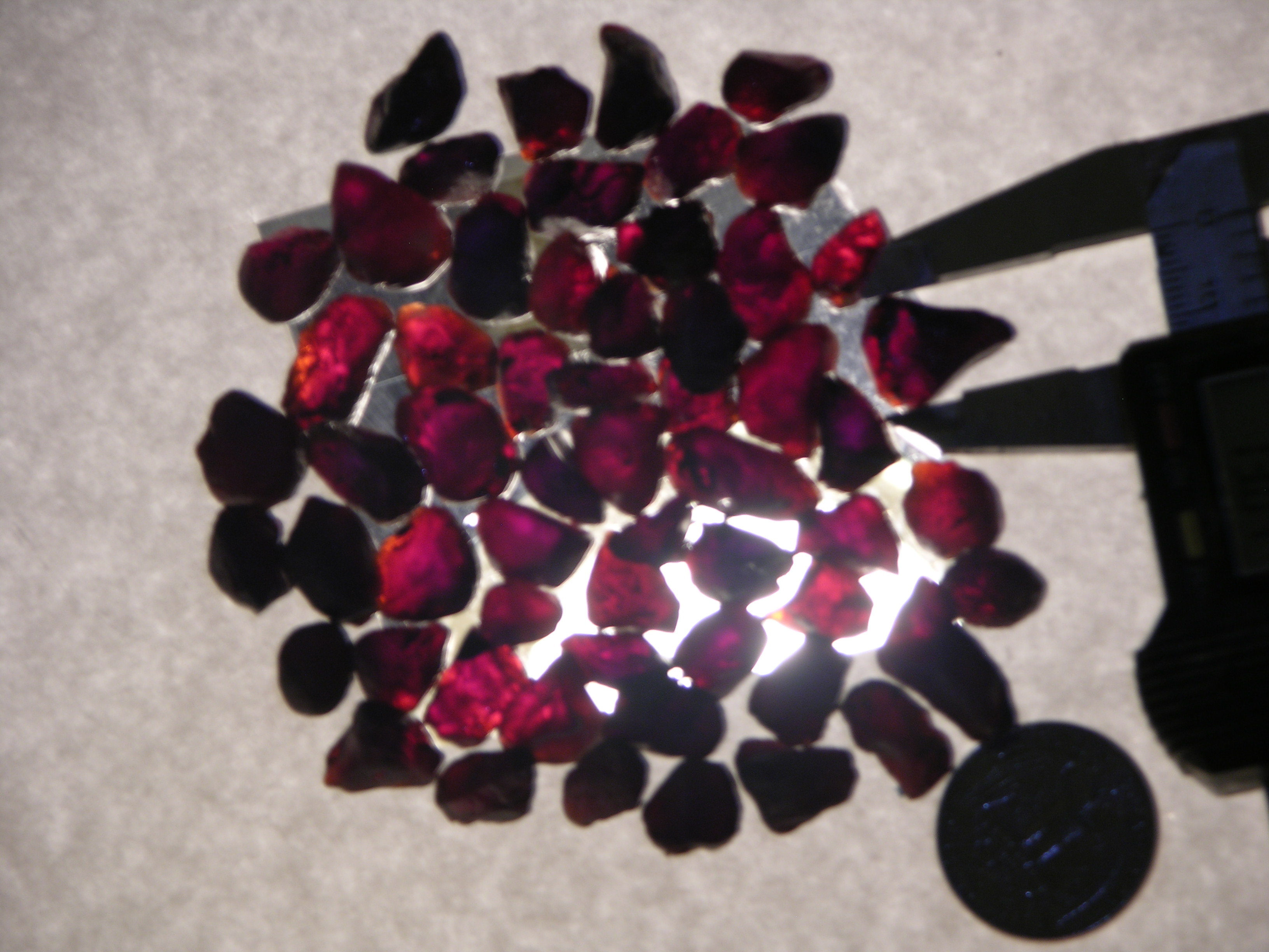 Rough Garnet Almandine from Africa
