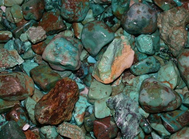 Arizona rough turquoise